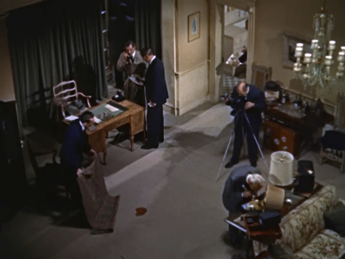 Dial M For Murder 1954 The Blonde At The Film