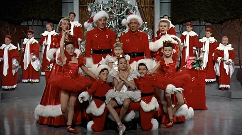 white christmas 1954 the blonde at the film - When Was White Christmas Filmed