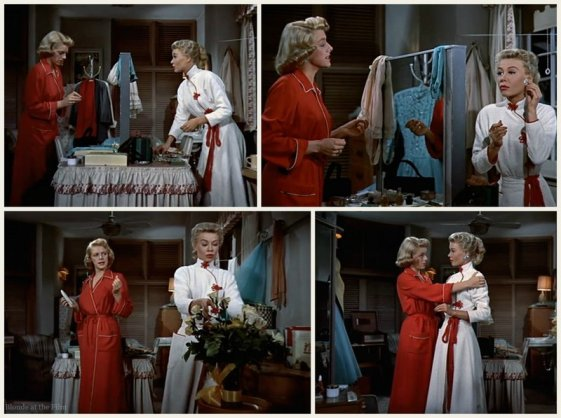 White christmas 1954 the blonde at the film