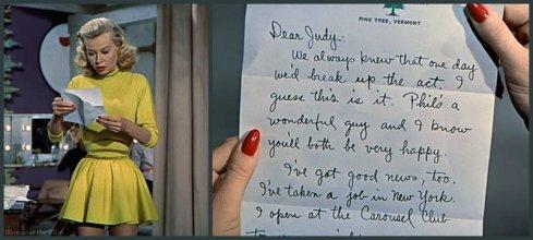 White Christmas Ellen letter