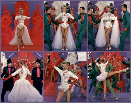 White Christmas Ellen Mandy costume