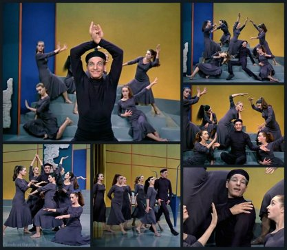 White Christmas Kaye Choreography