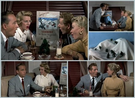 White Christmas Snow.White Christmas 1954 The Blonde At The Film