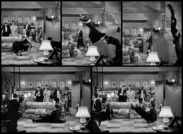 Holiday Grant Hepburn acrobatics 2