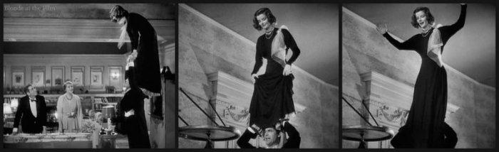 Holiday Grant Hepburn acrobatics