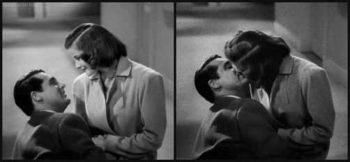 Holiday Grant Hepburn kiss 2