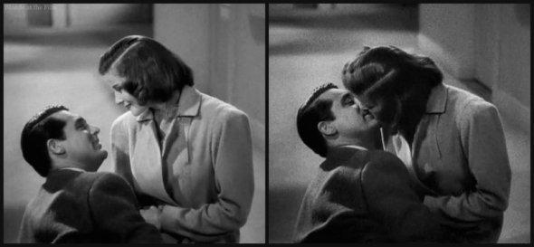Holiday Grant Hepburn kiss 2