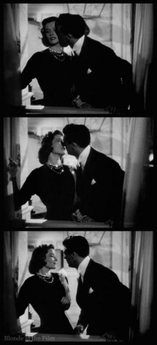 Holiday Grant Hepburn kiss