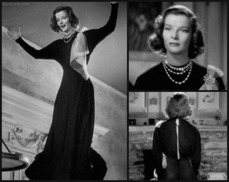 Holiday Hepburn black dress