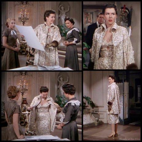 Lovely Miller gold costume