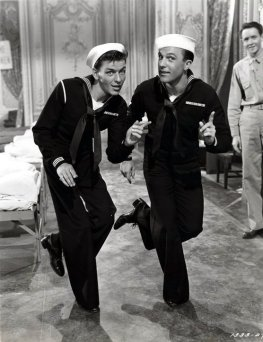 Sinatra and Kelly in On the Town via: http://www.doctormacro.com/Movie%20Summaries/A/Anchors%20Aweigh.htm