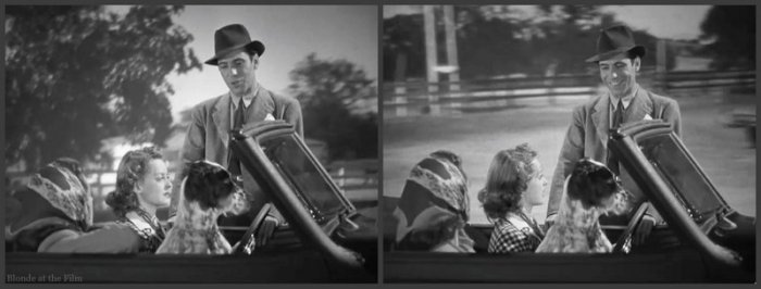 Dark Victory Bogart Davis car