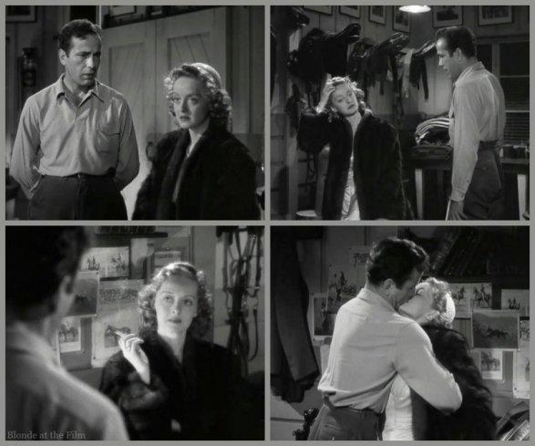 Dark Victory Bogart Davis kiss