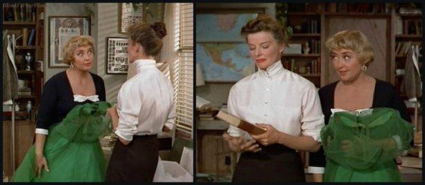 Desk Set Blondell Hepburn office