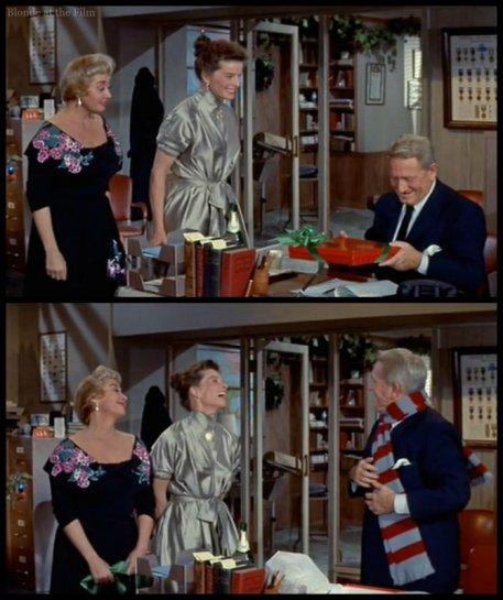 Desk Set Blondell Tracy Hepburn gift