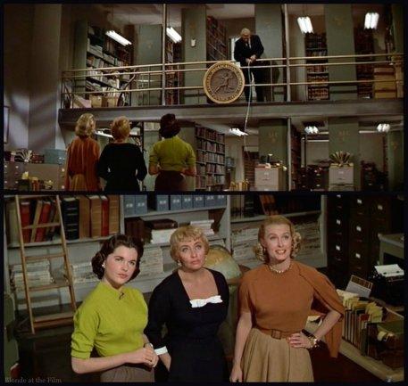 Desk Set Blondell Tracy measure