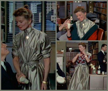 Desk Set Hepburn dress