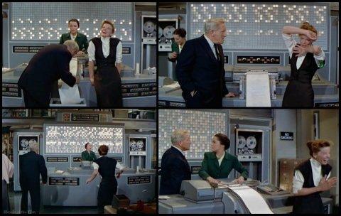 Desk Set Hepburn Tracy meltdown