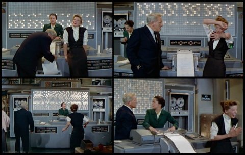 Desk Set Hepburn Tracy meltdown