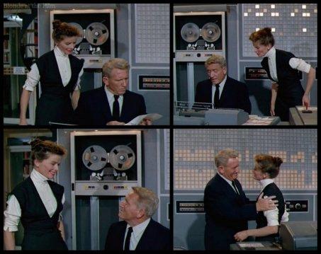 Desk Set Hepburn Tracy proposal
