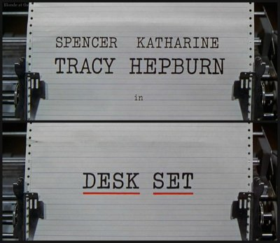 Desk Set titles