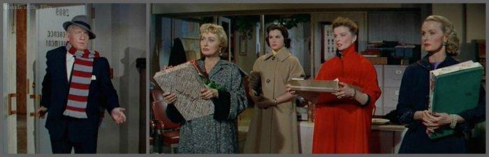 Desk Set Tracy Blondell Hepburn bad news