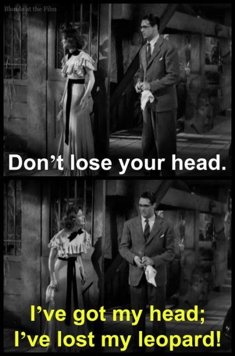 Bringing Up Baby: Katharine Hepburn and Cary Grant