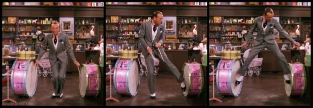 Easter Parade Astaire drums
