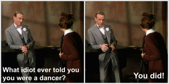 Easter Parade Astaire Garland idiot