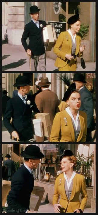 Easter Parade Garland Astaire faces