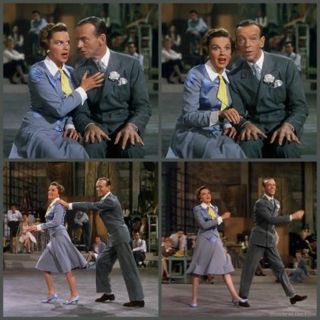 Easter Parade Garland Astaire train