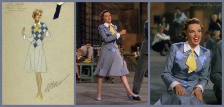 left via: http://www.icollector.com/Judy-Garland-Easter-Parade-Costume-Sketch_i7953042