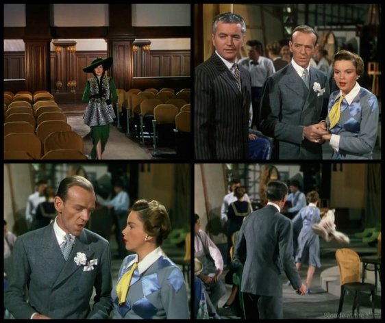 Easter Parade Miller Garland Astaire theater