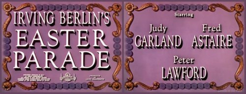Easter Parade titles