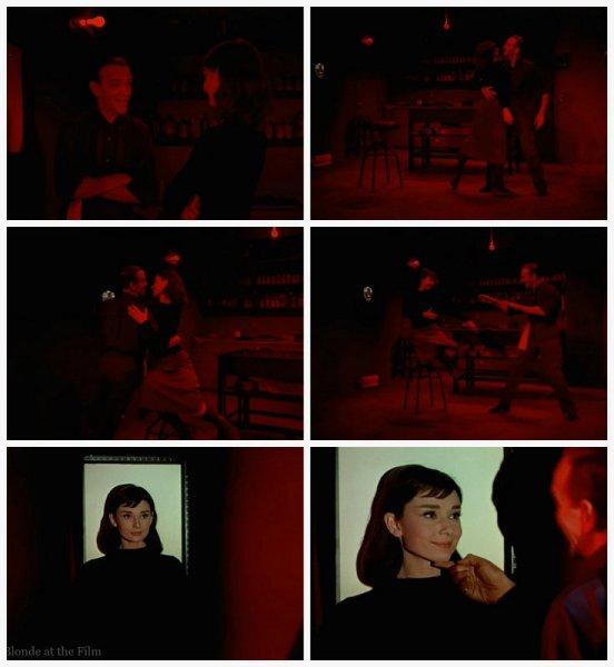 Funny Face Astaire Hepburn dark room 2