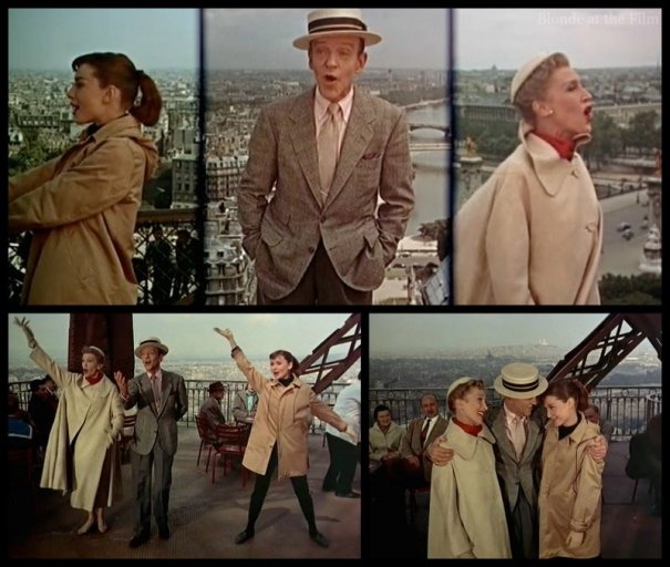 Funny Face Astaire Hepburn Thompson Bonjour