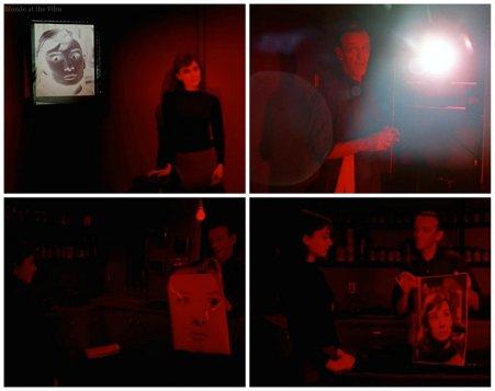 Funny Face Hepburn Astaire dark room