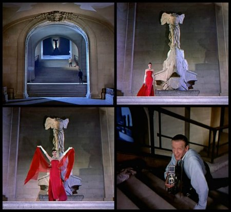 Funny Face Hepburn Astaire red