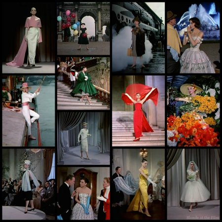 Funny Face Hepburn costumes