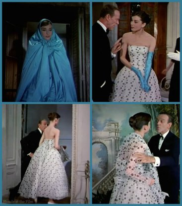 Funny Face Hepburn gown