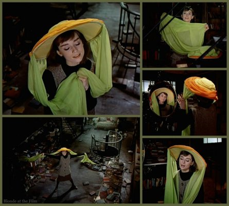 Funny Face Hepburn hat dance