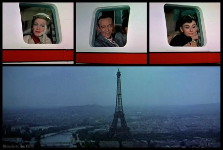 Funny Face Thompson Astaire Hepburn plane