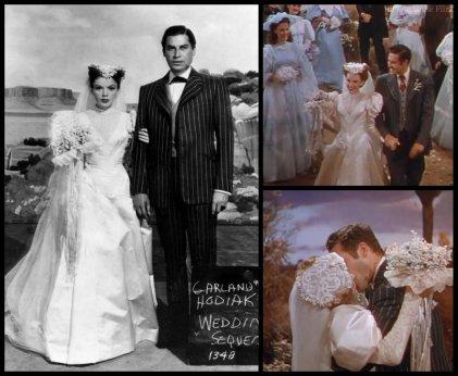 Left via: http://vintagefilmpropsandcostumes.blogspot.com/2011/06/judy-garland-harvey-girls.html