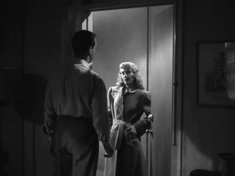 Double Indemnity 1944 The Blonde At The Film