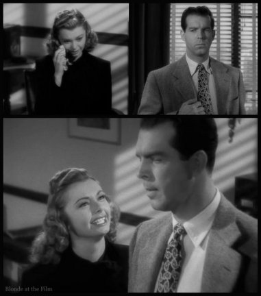 Double Indemnity Heather MacMurray office