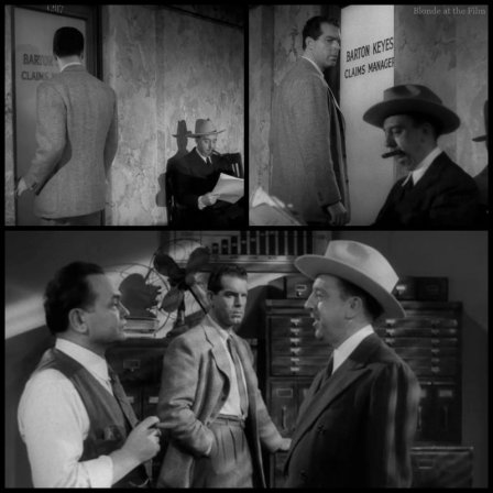 Double Indemnity MacMurray Hall Robinson