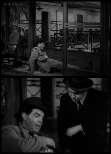 Double Indemnity MacMurray Robinson end