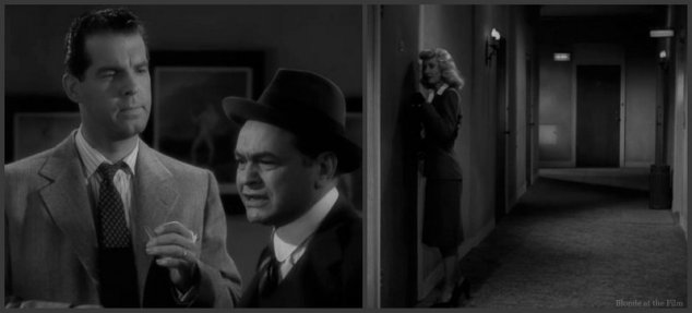 Double Indemnity MacMurray Robinson Stanwyck hall