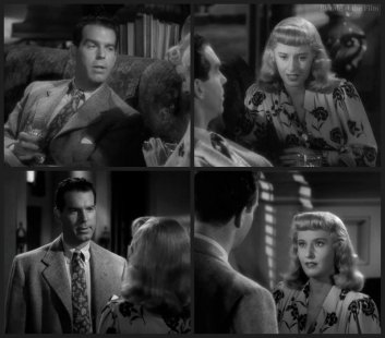 Double Indemnity MacMurray Stanwyck chat 1