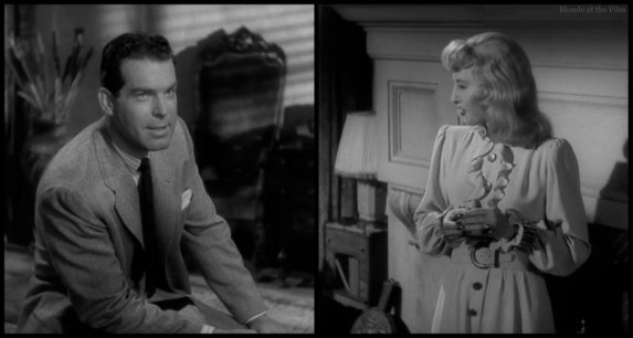 Double Indemnity MacMurray Stanwyck meeting 2